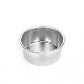 Dalinwell Wadah Penyaring Kopi Non Pressurized Basket 2 Cup 51mm for Breville Delonghi Krups - DL-01 - Silver