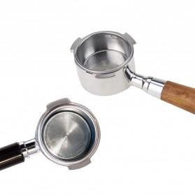 Dalinwell Wadah Penyaring Kopi Non Pressurized Basket 2 Cup 51mm for Breville Delonghi Krups - DL-01 - Silver - 4