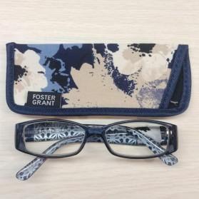FOSTER GRANT Kacamata Baca Presbyopic Lensa Plus 2.00 - 5216 - Black - 2