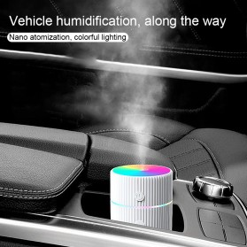 DIOZO Marquee Air Humidifier Aromatherapy Oil Diffuser Colorful Lights 220ml - LX06 - White - 6