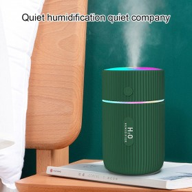 DIOZO Marquee Air Humidifier Aromatherapy Oil Diffuser Colorful Lights 220ml - LX06 - White - 7