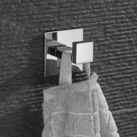 AUSWIND Gantungan Dinding Kapstok Hook Hanger Stainless Steel - SUS304 - Silver