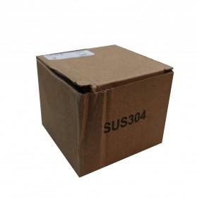 AUSWIND Gantungan Dinding Kapstok Hook Hanger Stainless Steel - SUS304 - Silver - 10