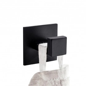 AUSWIND Gantungan Dinding Kapstok Hook Hanger Stainless Steel - SUS304 - Black