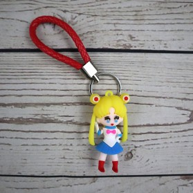 Gantungan Kunci Action Figure Sailor Moon - SS04 - 2