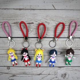 Gantungan Kunci Action Figure Sailor Moon - SS04 - 8
