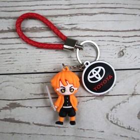 Gantungan Kunci Action Figure Naruto X Kimetsu no Yaiba - SS05 - 4