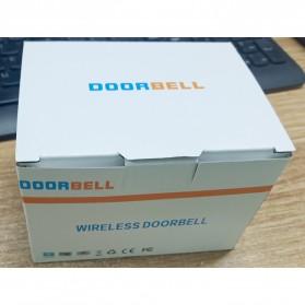 Aibont Bel Pintu Wireless Doorbell LED 45 Tunes 1 PCS Receiver 1PCS Transmitter - N189 - Black - 9