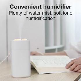 LISM Air Humidifier Diffuser Pelembab Udara Lampu Tidur 350ml - S1 - White - 5