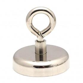 STDECOR Magnet Gantungan Sheep Eye Hook Strong Neodymium Tension 160KG - LNF60 - Silver