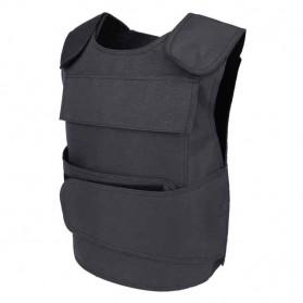 ARC Rompi Militer Airsoft Gun CS Tactical Vest Breathable Shockproof - ARC10 - Black