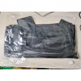 ARC Rompi Militer Airsoft Gun CS Tactical Vest Breathable Shockproof - ARC10 - Black - 9