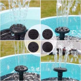 LeKing Air Mancur Kolam Tenaga Surya Solar Water Fountain 1.5W - LK300 - Black