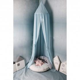 Faroot Jaring Anti Nyamuk Kasur Bayi Baby Chiffon Mosquito Net 50x240cm - A75 - Gray - 3