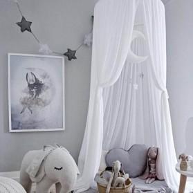 Faroot Jaring Anti Nyamuk Kasur Bayi Baby Chiffon Mosquito Net 50x240cm - A75 - Gray - 6