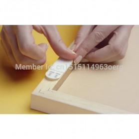NIKTO 3M Command Lakban Velcro Hook and Loop Magic Nylon Sticker 6 PCS - M1720 - White - 8
