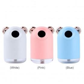 Alloet Air Humidifier LED Night Light 220ml - H61 - Pink - 9