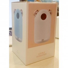 Alloet Air Humidifier LED Night Light 220ml - H61 - Pink - 10