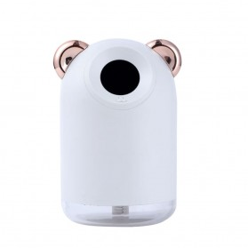 Alloet Air Humidifier LED Night Light 220ml - H61 - White
