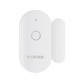 Fuers TUYA Smart Alarm Sensor Pintu Jendela Rumah WiFi - WIFID01 - White - 2