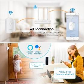 Fuers TUYA Smart Alarm Sensor Pintu Jendela Rumah WiFi - WIFID01 - White - 3