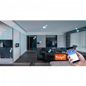 Fuers TUYA Smart Alarm Sensor Pintu Jendela Rumah WiFi - WIFID01 - White - 7