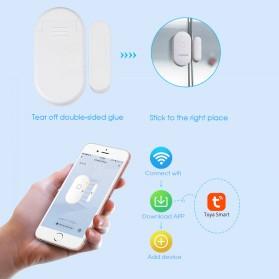 Fuers TUYA Smart Alarm Sensor Pintu Jendela Rumah WiFi - WIFID01 - White - 10