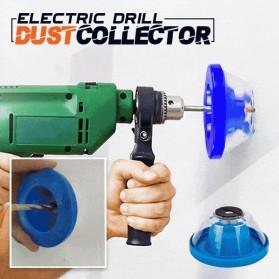 PowerTP Pelindung Anti Debu Cover Bor Drill Dust Collector Ash Bowl - SOJ19 - Blue