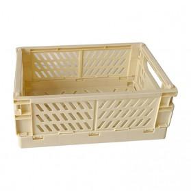 Mrosaa Rak Organizer Lipat Collapsible Container Box - 5AC1 - Yellow
