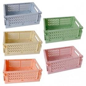 Mrosaa Rak Organizer Lipat Collapsible Container Box - 5AC1 - Yellow - 2