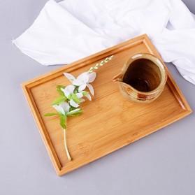 NLSLASI Tatakan Teh China Bamboo Tea Tray - NL30 - Wooden