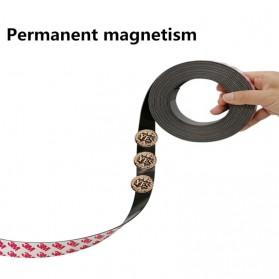 NIKTO Lakban Sticker Magnetic Strong Tape Self Adhesive 10MM x 10M - TMK92 - Black