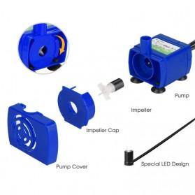 VOFORD Pompa Air Water Fountain Ultra Quiet Pump - QR31 - Blue - 3