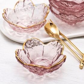 HOMADISE Mangkok Saus Mini Sauce Bowl Cherry Blossoms Nordic Style - JJ543 - Transparent