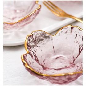 HOMADISE Mangkok Saus Mini Sauce Bowl Cherry Blossoms Nordic Style - JJ543 - Transparent - 3