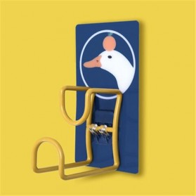 KHGDNOR Gantungan Dinding Kapstok Hanger Aluminium Motif Lucu - MT20 - Yellow