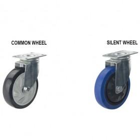 WPRO Trolley Barang Lipat Folding Cart Silent Wheel 70x48CM 150KG - FPT-300 - Blue - 9
