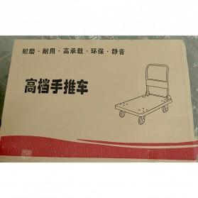 WPRO Trolley Barang Lipat Folding Cart Silent Wheel 70x48CM 150KG - FPT-300 - Blue - 10