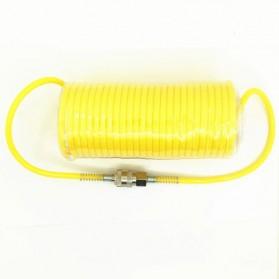 RISEVERTOOLS Selang Air Compressor Telescopic Fleksibel Spring Hose 7.5 Meter - TX010 - Orange - 3