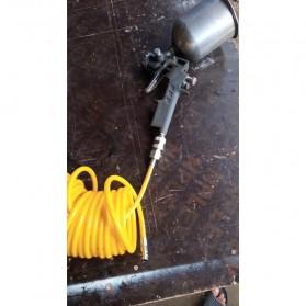 RISEVERTOOLS Selang Air Compressor Telescopic Fleksibel Spring Hose 7.5 Meter - TX010 - Orange - 9