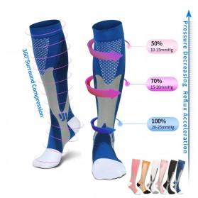 Zingso Kaos Kaki Olahraga Sport Compression Socks Size L-XL - T73002 - Black - 2