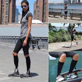 Zingso Kaos Kaki Olahraga Sport Compression Socks Size L-XL - T73002 - Black - 5