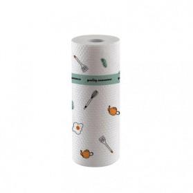 EOU HOME Tisu Kertas Soft Strong Disposable Paper Towel 1 Roll (50 Helai) - TA1242 - White