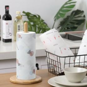 EOU HOME Tisu Kertas Soft Strong Disposable Paper Towel 1 Roll (50 Helai) - TA1242 - White - 3