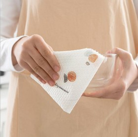 EOU HOME Tisu Kertas Soft Strong Disposable Paper Towel 1 Roll (50 Helai) - TA1242 - White - 6