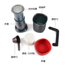 AEROPRESS Set Alat Pembuat Kopi French Press Coffee Maker - T237 - Black - 2
