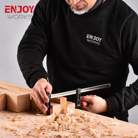 NJOYWORKS Penjepit Kayu F Clamp Handle-C Woodworking Clamp Carpentry Gadgets 150mm - ECF04050 - 9