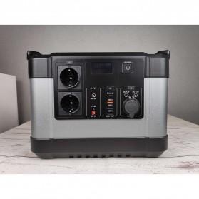 JYE Portable Outdoor Emergency Power Supply Station 220V 1000W - G1000 - Black