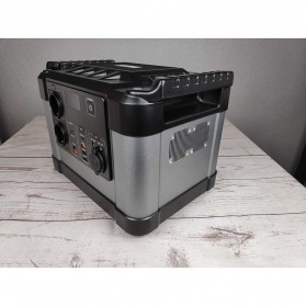 JYE Portable Outdoor Emergency Power Supply Station 220V 1000W - G1000 - Black - 2