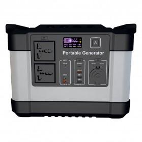 JYE Portable Outdoor Emergency Power Supply Station 220V 1000W - G1000 - Black - 4